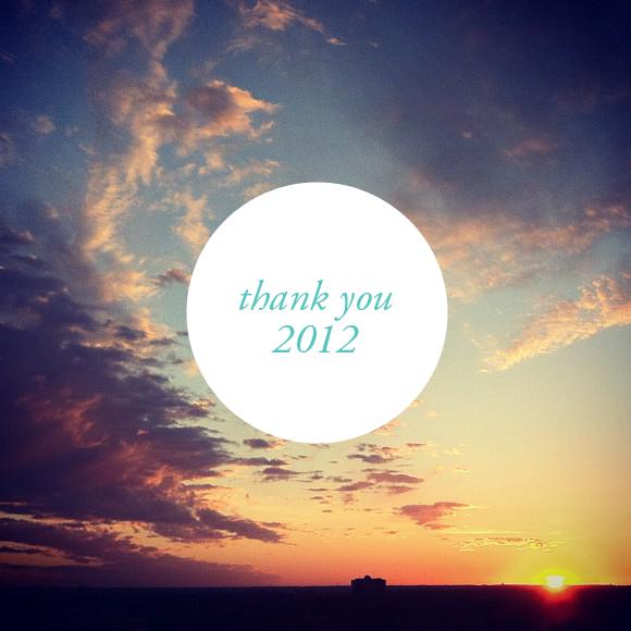 thankyou2012