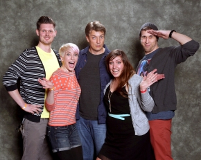 Calgary Expo 2013: Meeting Nathan Fillion!