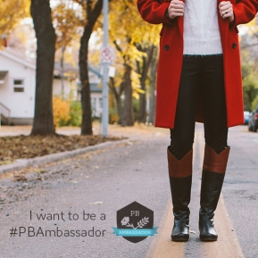 I want to be a #PBAmbassador!