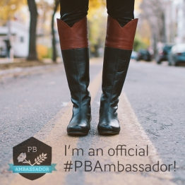 I'm an Official #PBAmbassador!
