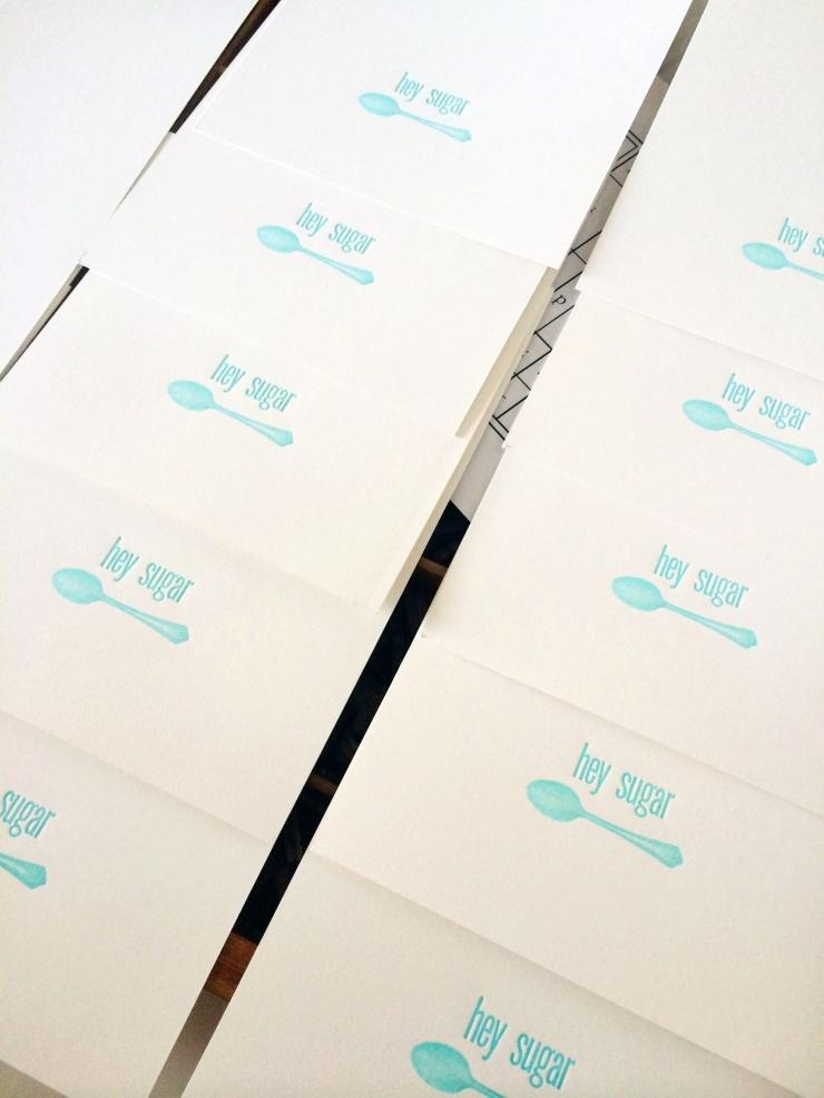 Edmonton Uppercase Press Letterpress Workshop: DutchieLove prints