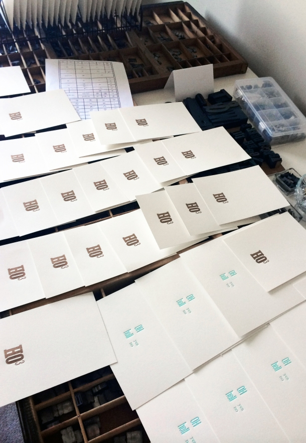Edmonton Uppercase Press Letterpress Workshop: DutchieLove Prints