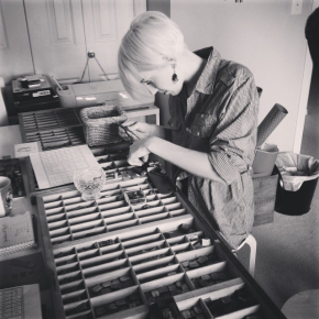 The Best Edmonton Letterpress Workshop!