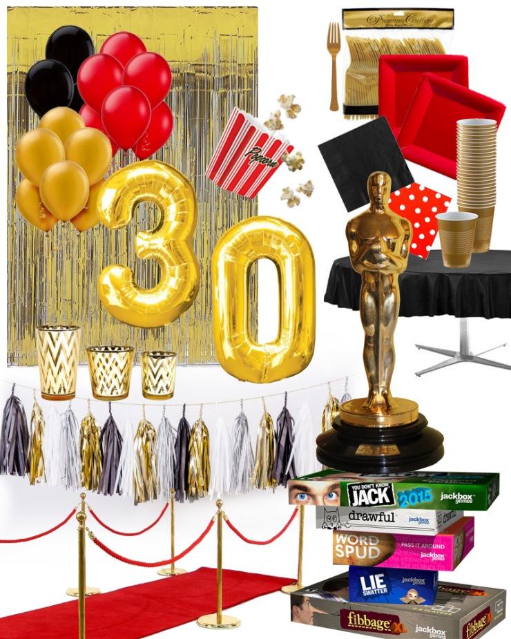 DutchieLove_30Birthday_OscarsTheme